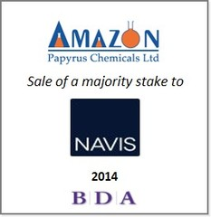 BDA advises on sale of majority stake in Amazon Papyrus Chemicals Group to Navis Capital Partners
