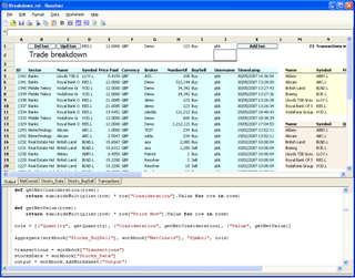Resolver Systems announces the public Beta release of Resolver One: the first Spreadsheet/Python hybrid