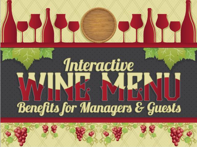 CorkGuru: Interactive Wine Menu App Infographic