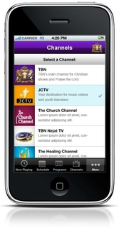 TRINET INTERNET SOLUTIONS RELEASES LIVE VIDEO IPHONE APP FOR TRINITY BROADCASTING NETWORK