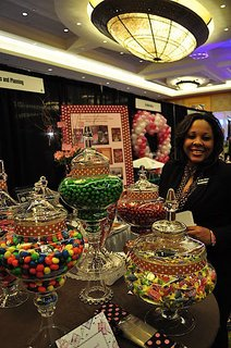 "Sweet Events and Planning Deemed ""Sweetest Booth"" by Washington Bridal Showcase"