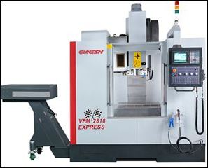 Ganesh Machinery Announces New 5-Axis Vertical Machining Center Technology