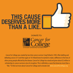 SACA Technologies Supports Cancer for College with Donation to Fundraising Campaign