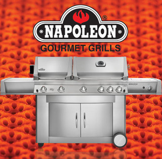 Infrared Grills with ceramic burners by Napoleon® Grills
