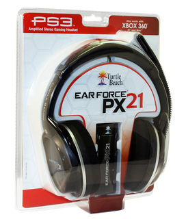 Ear Force PX21 Universal Gaming Headset from Turtle Beach® Takes PlayStation®3, XBOX 360® and PC Gaming to N…