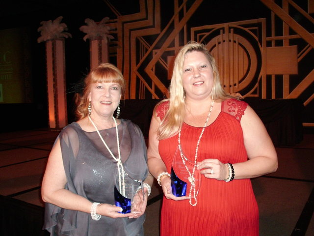 Maryanne Hurley-Cicconi and Karen Holthe