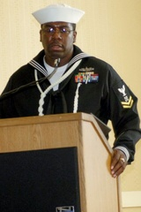 Navy Veteran Hal Haskins Receives Top Honors for Military Service