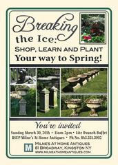 Celebrating Spring with Milne's At Home Antiques in Kingston NY