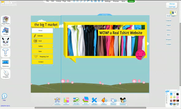 wix website builder adds new html component