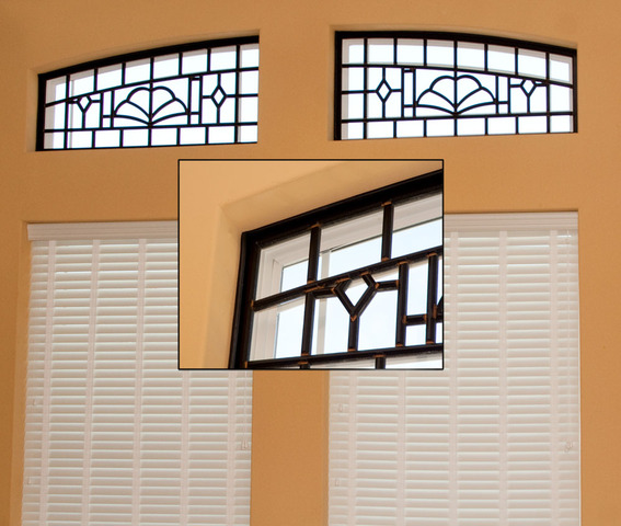 Tableaux® Faux Wrought Iron Window Treatment Assembly with Snug Seal™