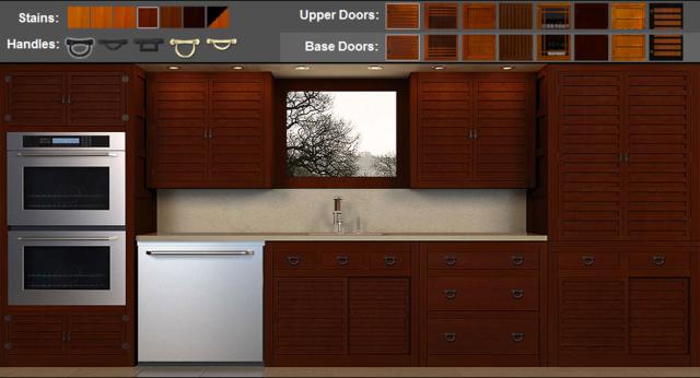 Kitchen Door styles application from Greentea Design