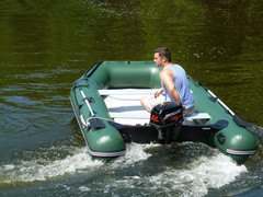 Saturn Wide Fishing Inflatable Boat SD330W