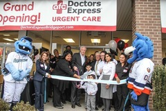 Ribbon Cutting for the Grand Opening of Doctors Express Bridgeport