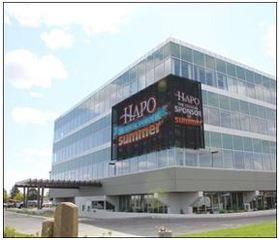 HAPO Community Credit Union Stuns Tri-City Area with Unique Transparent LED Video Display