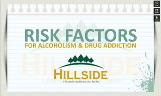 Hillside Rehab Facility Publishes a Slide Show on Alcoholism Risk Factors