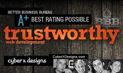 New Jersey web design firm Cyber X Designs