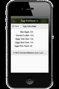 Cluck-ulator Egg Estimator Screen Shot