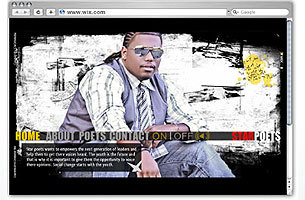 A Wix of the Day Website Built with Wix