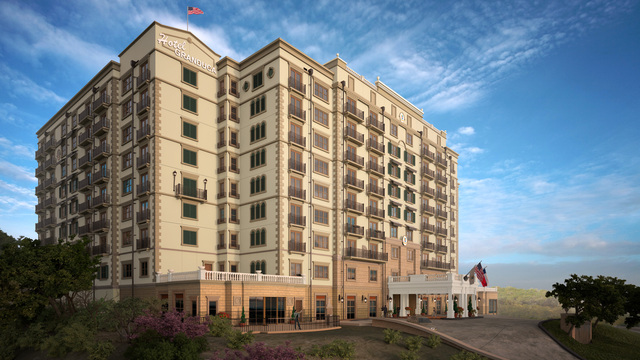 Boutique Hotel Granduca  Austin begins construction in April 2014.