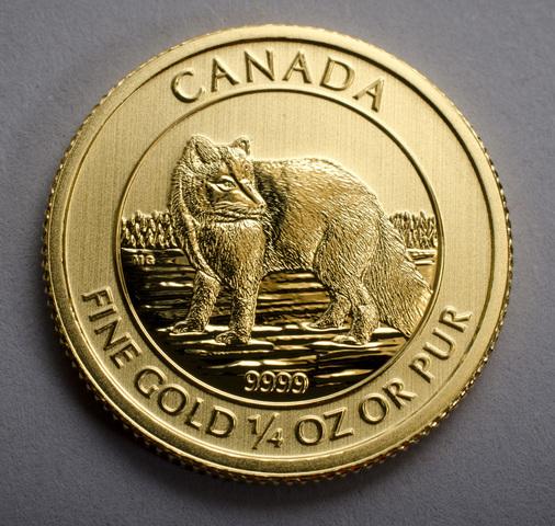 Lear Capital's 2014 Gold Arctic Fox