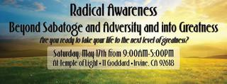 Irvine Experiences the Transformation of Radical Awareness