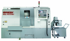 """KSL-7612TMY CNC Turn - Mill Center<br /> with 10"""" Chuck, Rugged Box Ways, Full """"C"""" and Full """"Y"""" Axis"""