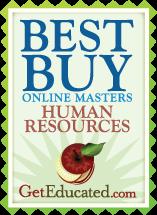 GetEducated Best Buy Online HR Masters Degree