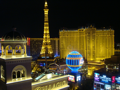 View from the Cosmopolitan in Las Vegas