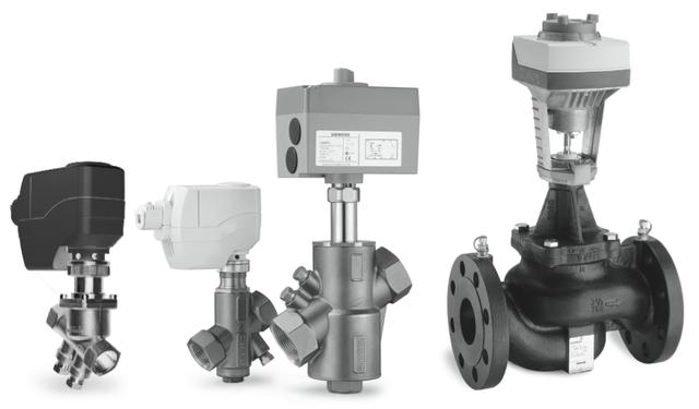 Siemens Actuators and Valve Assemblies by HVACbrain.com