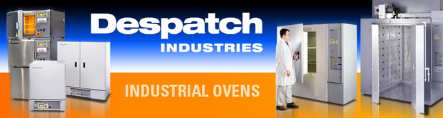 Despatch Industries has been manufacturing Industrial Ovens for over 100 years.