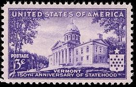 Vermont stamp
