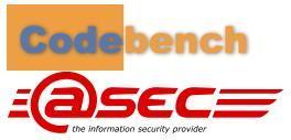 Logo atsec and codebench