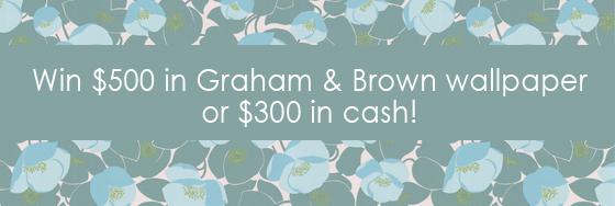 Graham & Brown Facebook photo contest