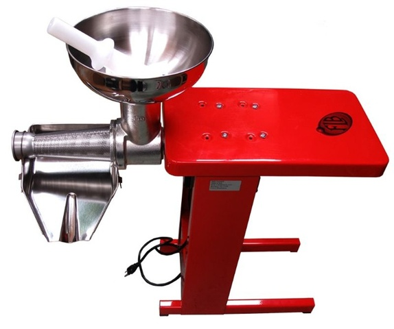 Fabio Leonardi MR9/SP5 1HP Tomato Machine With Steel Bench