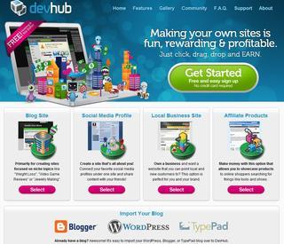 DevHub.com Turns Building Your Website into a Game
