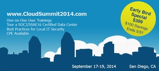 Prominent Cloud Computing Vendors To Sponsor Cloud Summit 2014