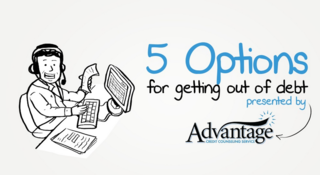 Advantage CCS releases slide show outlining get out of debt options