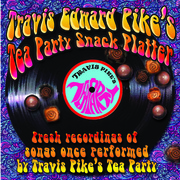 Travis Edward Pike's Tea Party Snack Platter cover art by Linda Snyder