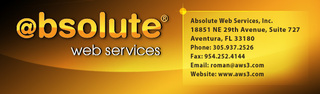 Absolute Web Services a Miami Web design firm hired to design pet Hip and Joint formula distributors site
