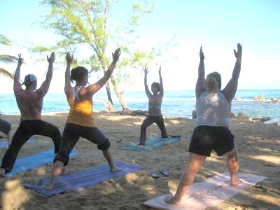 CHAOS Cure creator Diane Sieg leads beachfront yoga retreat