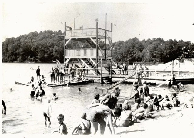 Williams Lake Bathers c. 1940s