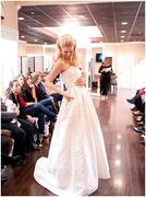 On the runway at Soliloquy Bridal Couture