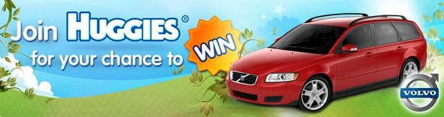 Enter The Volvo Competition by Huggies Australia For Your Chance to Win
