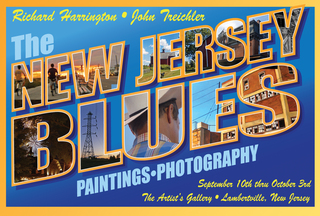 New Jersey Blues Art Exhibit by Harrington and Treichler