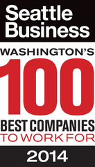 Full Beaker, Inc. Honored as One of Washington's 100 Best Companies to Work for by Seattle Business Magazine