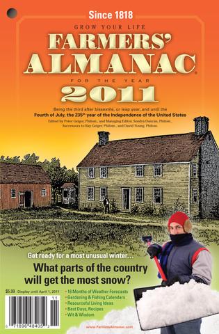 2011 Farmers Almanac