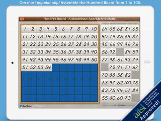 Mobile Montessori presents the Hundred Board iPad app v3.2 Update