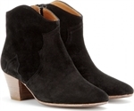 DICKER SUEDE ANKLE BOOTS