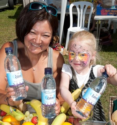 Eden Springs water donation