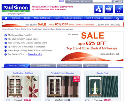 Paul Simon Mid Season Sale - Homepage